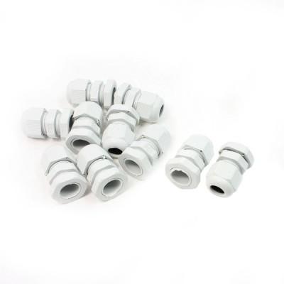 uxcell ケーブルグランド ケーブル グランド プラスチック製 ファスナー ライン 8mm-4mm