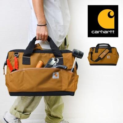 ショルダーバッグ carhartt 工具バッグ カーハート ツールバッグ ブランド 斜めがけ 0102 手提げ DIY 撥水 工具入れ 大容量 道具箱 ポケット
