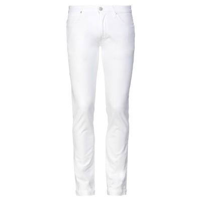 PT Torino パンツ ホワイト 32 コットン 96% / ポリウレタン 4% パンツ