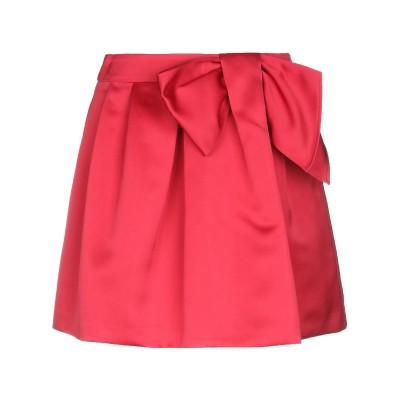 パロッシュ P.A.R.O.S.H. ミニスカート レッド S ポリエステル 100% ミニスカート