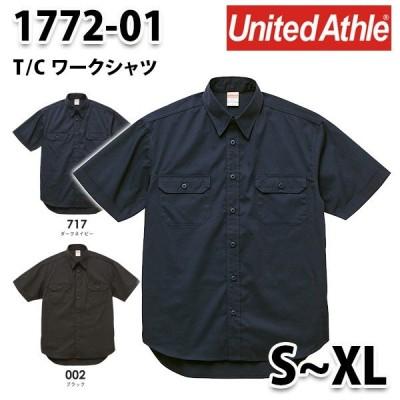 UnitedAthle ユナイテッドアスレ/1772-01/T/CワークシャツSALEセール