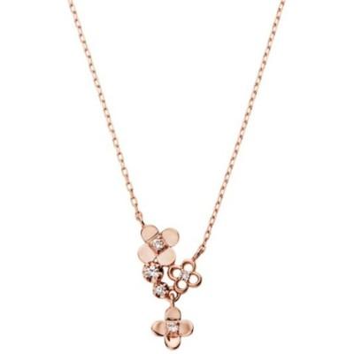ネックレス K10 ピンクゴールド ベーシック ダイヤモンド ネックレス/VENDOME AOYAMA(ヴァンドーム青山)