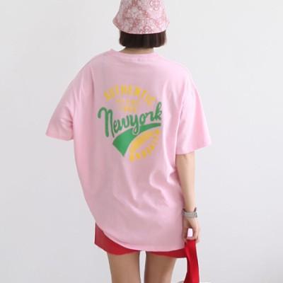 [Korea Applemango-shop] Ms newyork ティーシャツ.