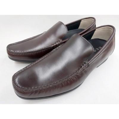 リーガル REGAL 靴 メンズ ヴァンプスリッポンカジュアル 56HR(ワイン)