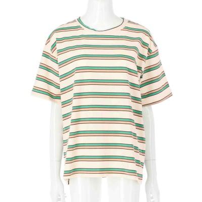 anap mimpi ボーダーTシャツ(アイボリー)