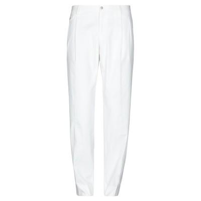 ドルチェ & ガッバーナ DOLCE & GABBANA パンツ ホワイト 54 100% コットン パンツ