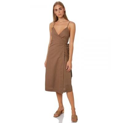 ヌード ルーシー Nude lucy レディース ワンピース ラップドレス ワンピース・ドレス Piper Wrap Dress Chocolate