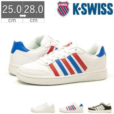 K-SWISS ケースイス コートパリセイド COURT PALISADES S レザー メンズ スニーカー シューズ 靴 ライン