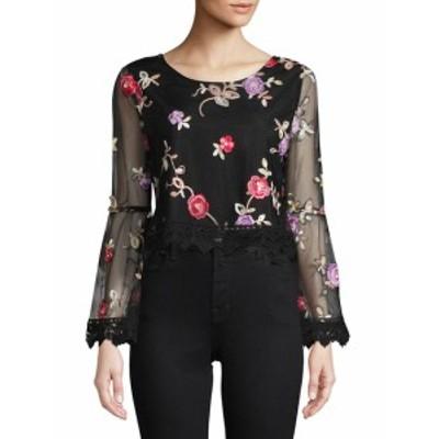 BB ダコタ レディース トップス シャツ Annastasia Floral Bell-Sleeve Blouse