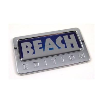 車クロームデカールcbedibeachビーチカスタムEditionドーム型デカールC / W粘着車クロームエンブレム自動バッジ