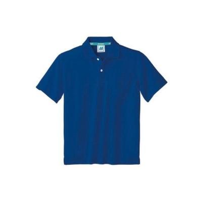 住商モンブラン ポロシャツ 兼用 半袖 ロイヤルブルー 6L 32-5064 1枚(直送品)