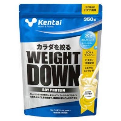 ケンタイ サプリメント 健体 ウェイトダウンソイプロテイン バナナ 350g K1141