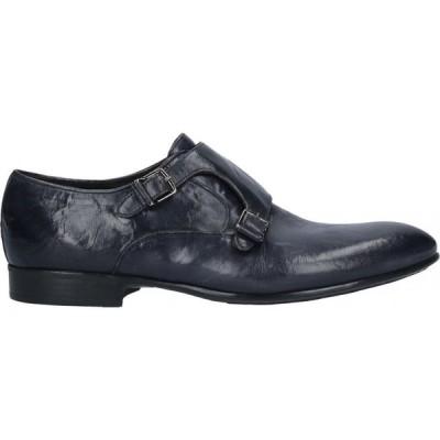 コルバリ CORVARI メンズ ローファー シューズ・靴 loafers Dark blue