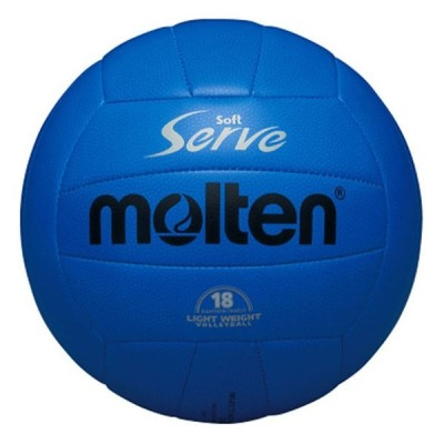 モルテン(Molten) ソフトサーブ軽量 4号球(体育・授業用) (バレー/ボール) EV4B (取寄)