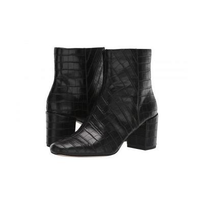 Splendid スプレンデッド レディース 女性用 シューズ 靴 ブーツ アンクルブーツ ショート Heather IV - Black Croco