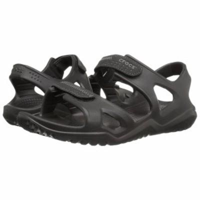 クロックス Crocs メンズ サンダル シューズ・靴 Swiftwater River Sandal Black/Black