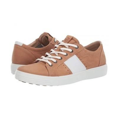 ECCO エコー メンズ 男性用 シューズ 靴 スニーカー 運動靴 Soft 7 Summer Sneaker - Cashmere/White