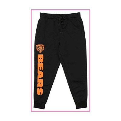Zubaz NFL Chicago Bears Men's Poly Fleece Jogger Size Large並行輸入品