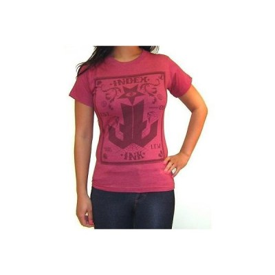 Tシャツ レディース 海外セレクション Women's Index Ink Good Fortune T-Shirt Red Logo Tattoo