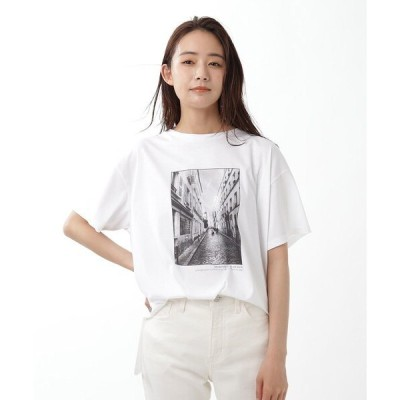 tシャツ Tシャツ フォトプリントTシャツ