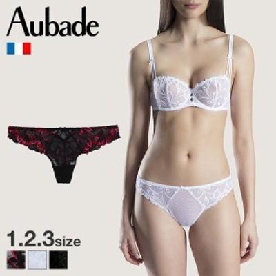 【メール便(3)】【送料無料】 (オーバドゥ)Aubade Au Bal de Flore Tバック タンガ ショーツ 単品