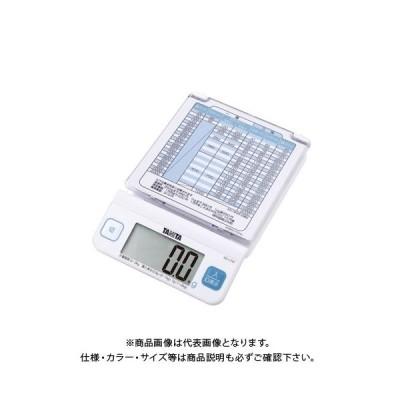 タニタ デジタルレタースケール KD-LT01-WH