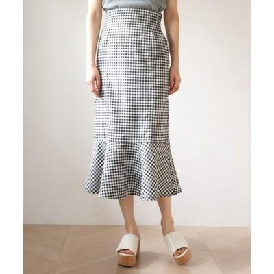 one after another NICE CLAUP / マーメイドデニムスカート WOMEN スカート > デニムスカート