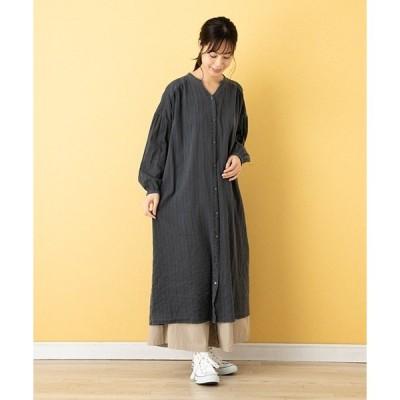 ドレス 【Lupilien】ストライプJQ ガウンドレス