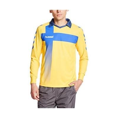 ヒュンメル サッカー・フットサル シャツ HAK1015 メンズ イエロー 日本 M-(日本サイズM相当)