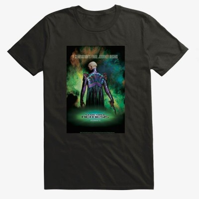 Movie スタートレック Tシャツ Star Trek Nemesis Final Journey T-Shirt メンズ