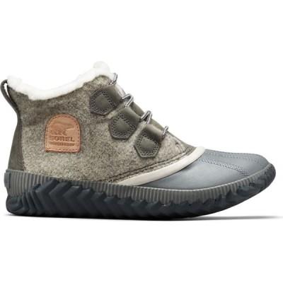 ソレル SOREL レディース ブーツ シューズ・靴 Out 'N About Plus Felt Waterproof Duck Boots NATURAL TAN