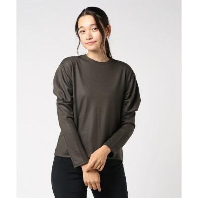 tシャツ Tシャツ ウールパフスリーブTシャツ