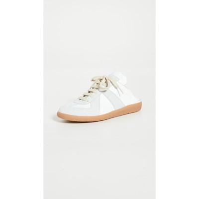 メゾン マルジェラ Maison Margiela レディース スリッポン・フラット シューズ・靴 Replica Mules Dirty White
