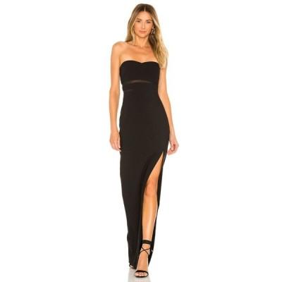 ライクリー LIKELY レディース パーティードレス ワンピース・ドレス Vas Gown Black