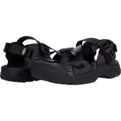 キーン KEEN レディース サンダル・ミュール シューズ・靴 Zerraport II Black/Black