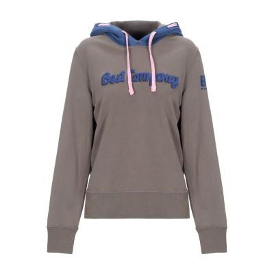 BEST COMPANY スウェットシャツ ミリタリーグリーン XS コットン 100% スウェットシャツ