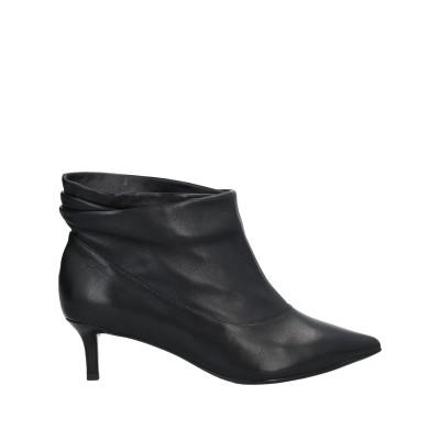 EMANUÉLLE VEE ショートブーツ ブラック 39 牛革(カーフ) ショートブーツ