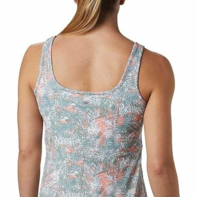 コロンビア Columbia レディース ワンピース ワンピース・ドレス Freezer III Dress Tiki Pink Waterbrush Print