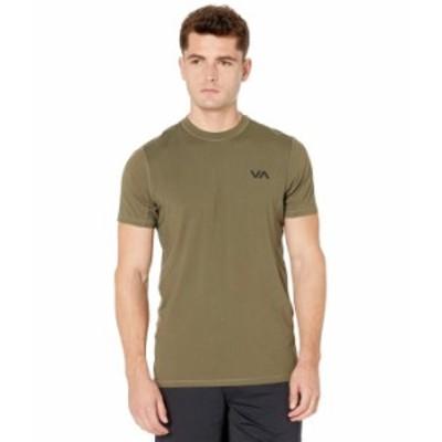 ルーカ メンズ シャツ トップス VA Sport Vent Short Sleeve Top Olive