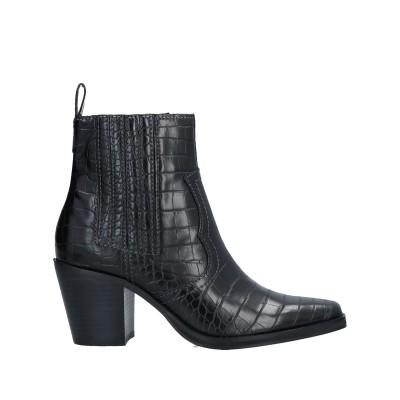 スティーブ マデン STEVE MADDEN ショートブーツ ブラック 8.5 合成繊維 ショートブーツ