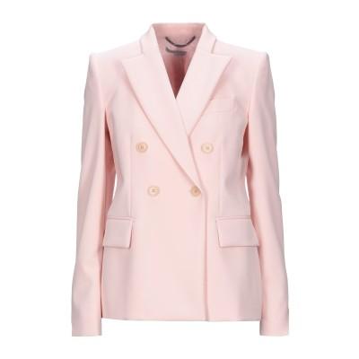 ステラ マッカートニー STELLA McCARTNEY テーラードジャケット ライトピンク 44 ウール 97% / ポリウレタン 3% テーラー