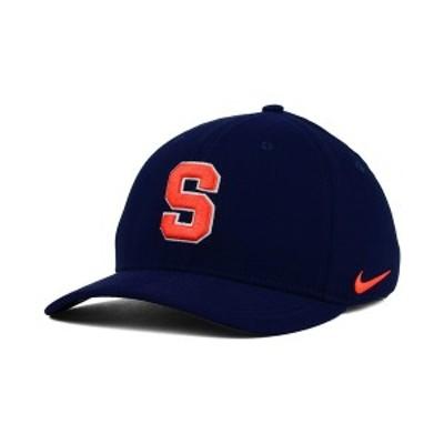 ナイキ メンズ 帽子 アクセサリー Syracuse Orange Classic Swoosh Cap Navy