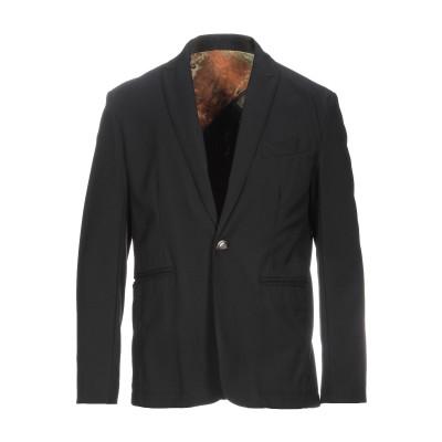 NEILL KATTER テーラードジャケット ブラック 50 ポリエステル 63% / レーヨン 33% / ポリウレタン 4% テーラードジャケ