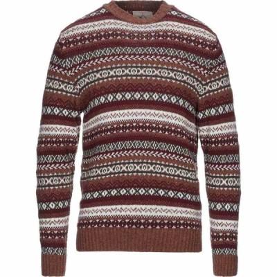 マグリエリア ヴェネタ M.V. MAGLIERIA VENETA メンズ ニット・セーター トップス sweater Brown