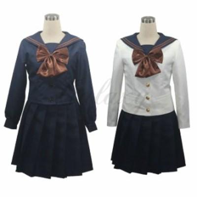 女子高生 高校制服 jk制服 制服 4点セット コスプレ衣装(cc2314)