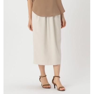 【リエス/Liesse】 タック入りタイトスカート