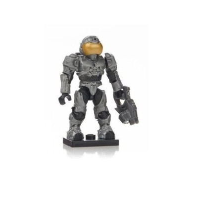 Mega Bloks (メガブロック) Halo (ヘイロー)eries 7 Silver Spartan Security Ultra Rare Factory Sealed