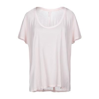 BEN TAVERNITI™ UNRAVEL PROJECT T シャツ ライトピンク XS コットン 100% T シャツ