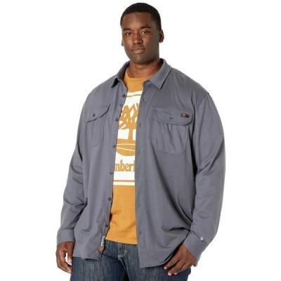 ティンバーランド メンズ シャツ トップス Extended FR Cotton Core Button Front Shirt