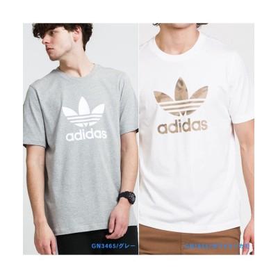 【アールエムストア】 adidas Originals TREFOIL LOGO T-SHIRTS / アディダス オリジナルス ティーシャツ メンズ グレー S RM STORE